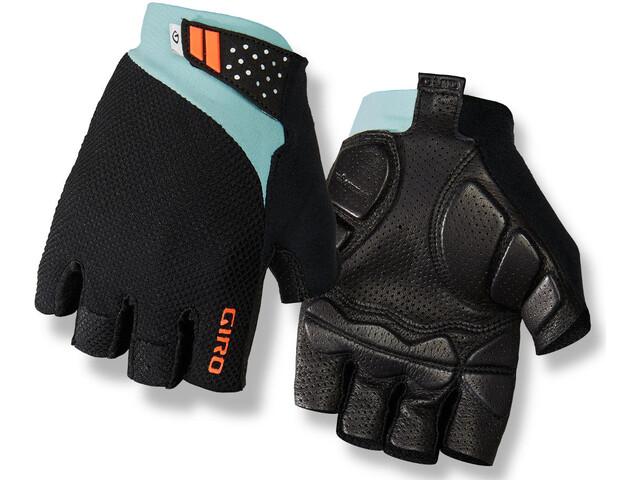 Giro Monaco II Gel Gloves Frost/Charcoal/Vermillion